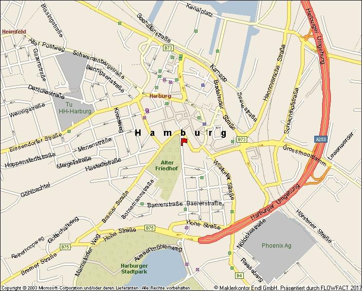 Stadtplan makro