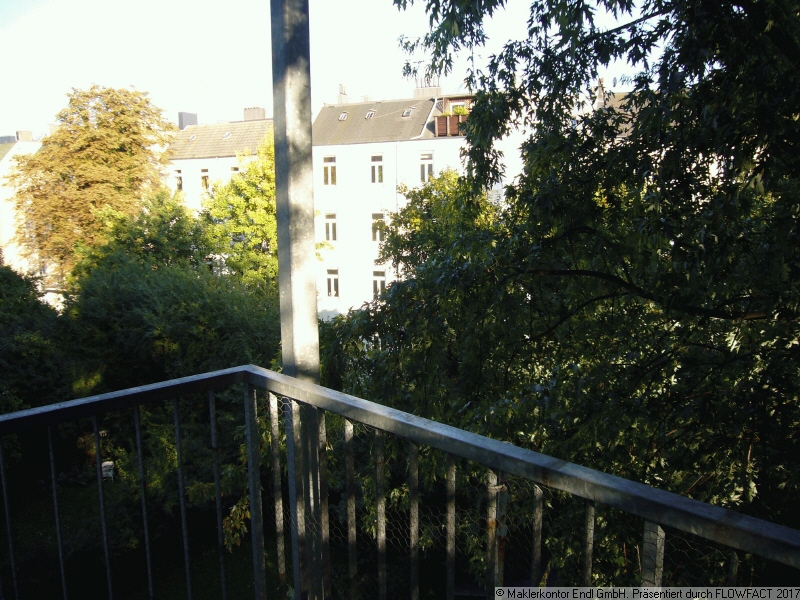 Sicht vom Balkon