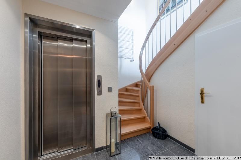 Fahrstuhl in der Wohnung