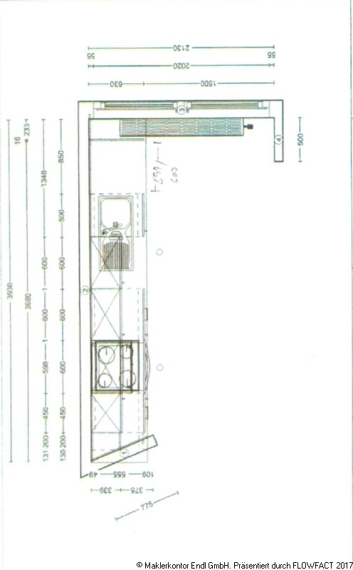 Küchenplan Bauerberg mitte